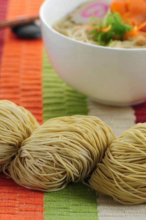 Megah Wanton Noodle (Full Egg Content)