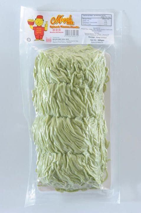 Megah Spinach Wanton Noodle